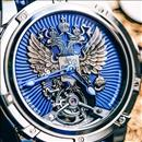 Louis Moinet Russian Tourbillon watch with the hand engraved double headed eagle