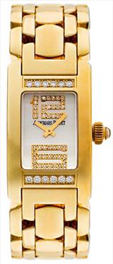 Audemars Piguet Promesse Diamond 18kt Yellow Gold Mini Ladies Watch