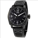 Oris BC4 Small Seconds Date Black Dial Automatic Men's Watch