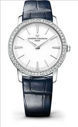 Vacheron Constantin Traditionnelle Silver Dial Ladies Watch