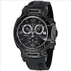 Tissot t-race black chronograph
