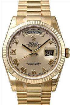 Rolex day date president yellow gold