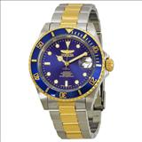 Invicta 8928OB Pro Diver 23k Gold Plating and Stainless Steel Two-Tone Automatic Watch