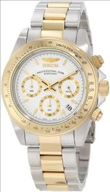 Invicta 9212 Speedway Collection 18k Gold Plating and Stainless Steel Two-Tone Watch