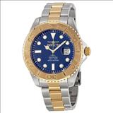 Invicta Pro Diver Blue Dial Two-tone Men's Watch