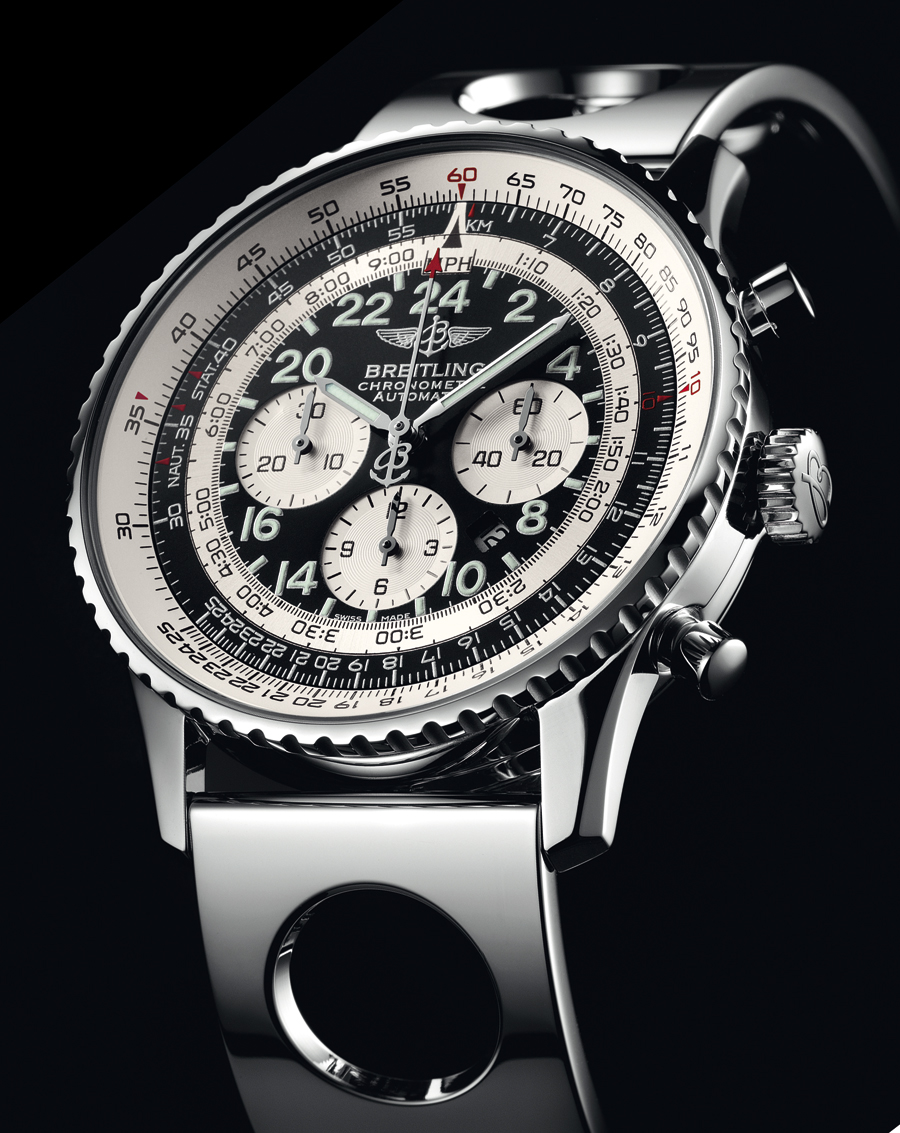 breitling cosmonaute limited edition watch pictures. Black Bedroom Furniture Sets. Home Design Ideas