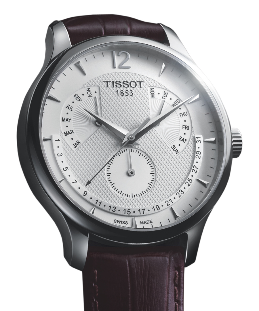 Perpetual Calendar Watches : Tissot tradition perpetual calendar watch pictures