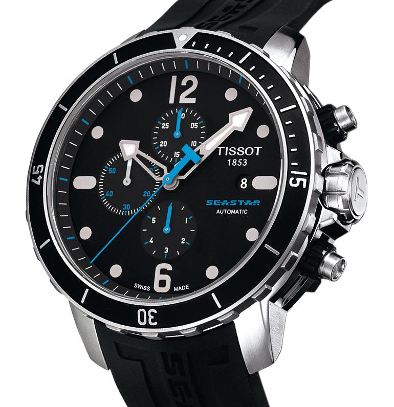 Tissot Seastar 1000 Automatic Chronograph C01.211 watch ...