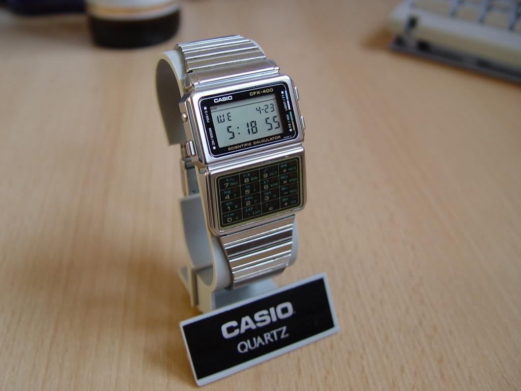Casio Watch With Calculator Price Casio Cfx-400 Calculator Watch