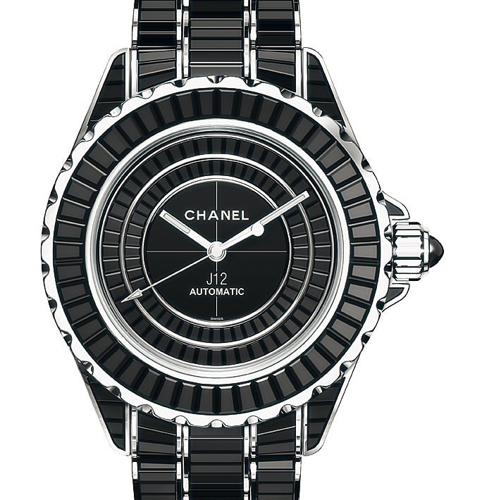 6ac76163 Chanel J12 Intense Black watch, pictures, reviews, watch prices